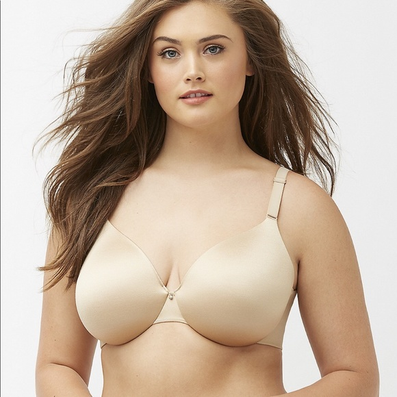 896bd8ae142 Lane Bryant Other - Cacique Back Smoother Balconette Bra 46 DDD